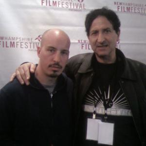 Screening of OFF HOUR by Daniel Frei, at the New Hampshire Film Festival 2008(october), as well as, screening of AUGUST by Austin Chick left to right: Austin Chick , Claude Laniado