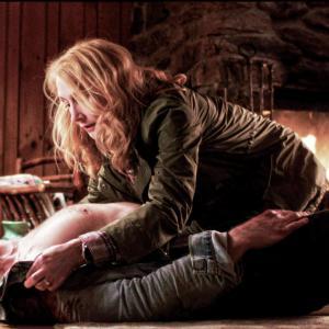 Still of Scott Speedman and Patricia Clarkson in October Gale (2014)