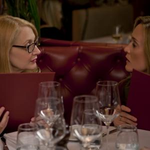 Still of Patricia Clarkson and Samantha Bee in Learning to Drive (2014)