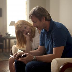 Still of Patricia Clarkson and Jake Weber in Learning to Drive (2014)