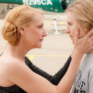 Still of Patricia Clarkson and Brit Marling in The East (2013)