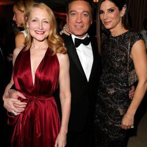 Sandra Bullock, Patricia Clarkson and Kevin Huvane