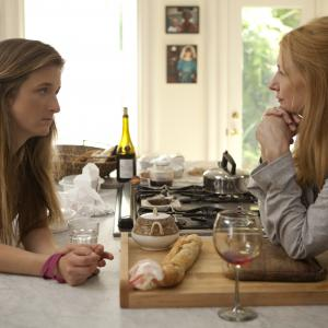 Still of Patricia Clarkson and Grace Gummer in Learning to Drive (2014)