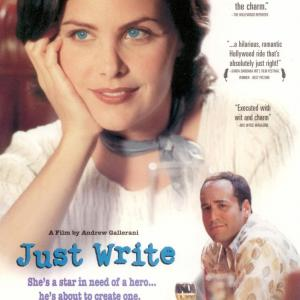 Poster for Just Write
