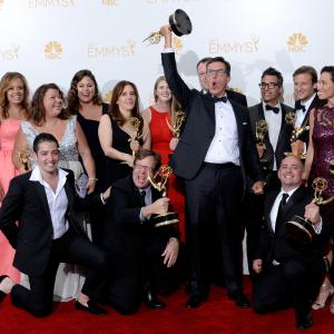 Stephen Colbert at event of The 66th Primetime Emmy Awards 2014