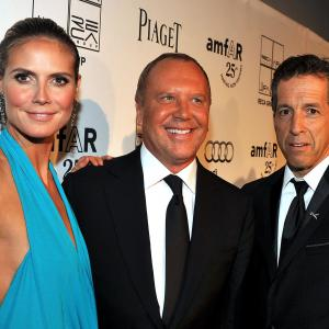 Heidi Klum, Kenneth Cole, Michael Kors