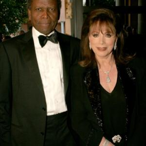 Sidney Poitier, Jackie Collins