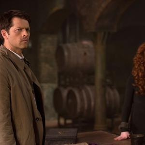 Misha Collins, Ruth Connell