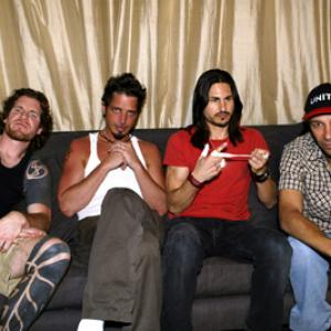Tim Commerford, Chris Cornell, Tom Morello, Brad Wilk