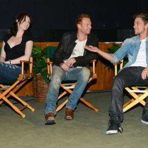 Denai Gracie Martin Copping Tim Pocock at the Australians In Film Screening of Battle Ground in Los Angeles
