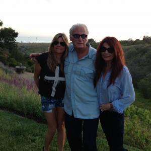 Joe w/Roma Downey and Cathrine Marino