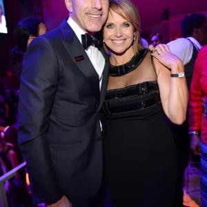 Matt Lauer and Katie Couric
