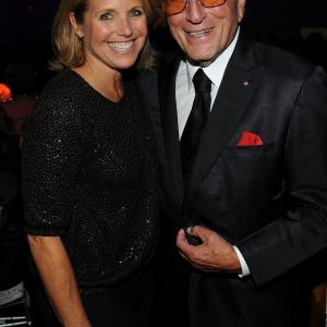 Tony Bennett and Katie Couric