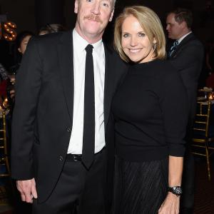 Katie Couric and Matt Walsh at event of Veep (2012)