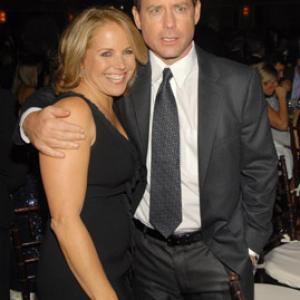 Greg Kinnear and Katie Couric
