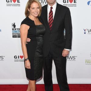 Katie Couric and Bob Woodruff