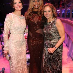 Katie Couric, Laverne Cox and Norah O'Donnell