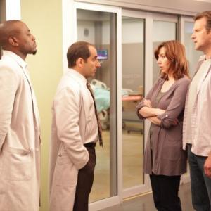 Omar Epps, Dwier Brown, Stephanie Courtney, Peter Jacobson