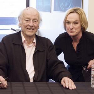 Ray Harryhausen and Catherine Craig