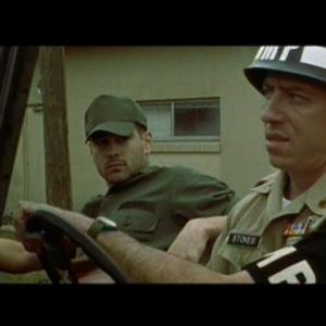 Tyler Cravens as MP Sergeant in TIGERLAND opposite Colin Farrell