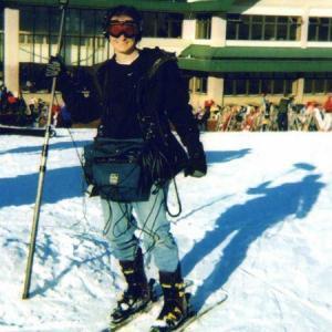 John DAquino on Location on Ski Windham