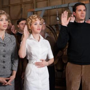 Still of Jessica Biel James DArcy and Scarlett Johansson in Hickokas 2012