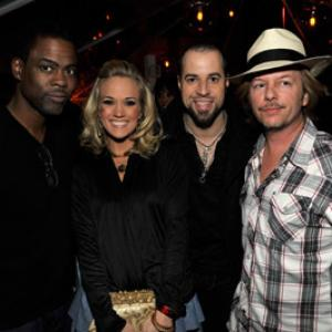 Chris Rock, David Spade, Chris Daughtry, Carrie Underwood