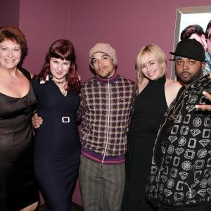 Lucy Decoutere, Sarah Dunsworth, Shelley Thompson, Tyrone Parsons