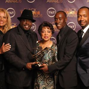 Don Cheadle Ruby Dee Cedric the Entertainer Suzanne De Passe and Jeff Friday