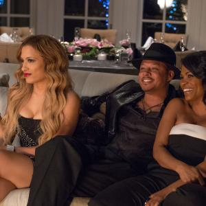 Still of Nia Long, Terrence Howard and Melissa De Sousa in The Best Man Holiday (2013)