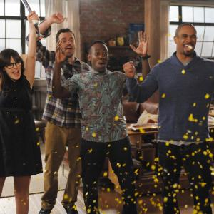 Zooey Deschanel, Damon Wayans Jr., Lamorne Morris, Jake Johnson