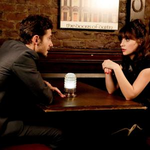 Still of Zooey Deschanel and Julian Morris in New Girl (2011)