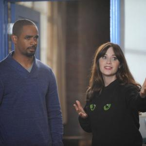 Zooey Deschanel, Damon Wayans Jr.