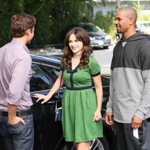 Still of Zooey Deschanel, Julian Morris and Damon Wayans Jr. in New Girl (2011)