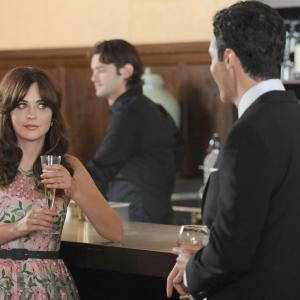 Still of Zooey Deschanel and Reid Scott in New Girl (2011)