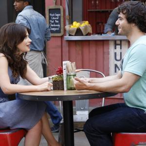 Still of Zooey Deschanel and Ryan O'Flanagan in New Girl (2011)