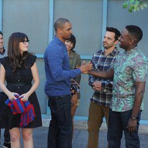 Zooey Deschanel, Max Greenfield, Damon Wayans Jr., Hannah Simone, Lamorne Morris, Jake Johnson