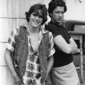 Still of Matt Dillon and Jim Metzler in Tex 1982