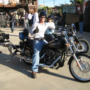 Miller Lite Commercial Harley with camera mount