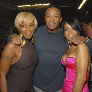 Mary J Blige Dr Dre and Rihanna