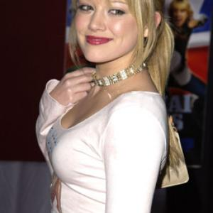 Hilary Duff at event of Shanghai Knights 2003