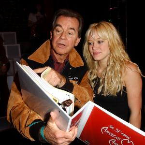 Dick Clark, Hilary Duff