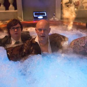 Still of Clark Duke Craig Robinson and Rob Corddry in Hot Tub Time Machine 2 2015