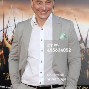 WESTWOOD, CA - SEPTEMBER 17: Werner Daehn attends the 'Field Of Lost Shoes' Los Angeles premiere at the Regency Village Theatre on September 17, 2014, in Westwood, California. (Photo by JB Lacroix/WireImage)