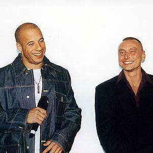 Vin Diesel and Werner Daehn at the Premiere of