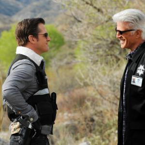 Ted Danson, George Eads