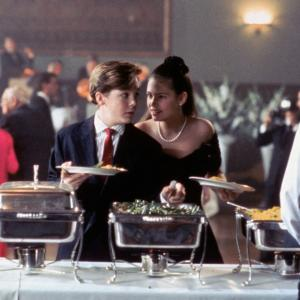 Still of Ethan Embry and Amy Oberer in All I Want for Christmas 1991