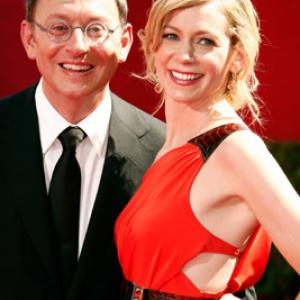 Michael Emerson and Carrie Preston at event of The 61st Primetime Emmy Awards 2009