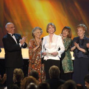 Edward Asner, Valerie Harper, Cloris Leachman, Mary Tyler Moore, Georgia Engel, Gavin MacLeod, Betty White