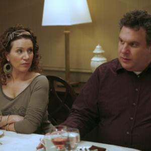 Still of Susie Essman and Jeff Garlin in Curb Your Enthusiasm (1999)